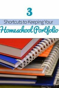 Shortcuts to Keeping Your Homeschool Portfolio