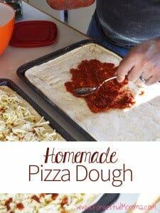 Homemade Pizza Dough