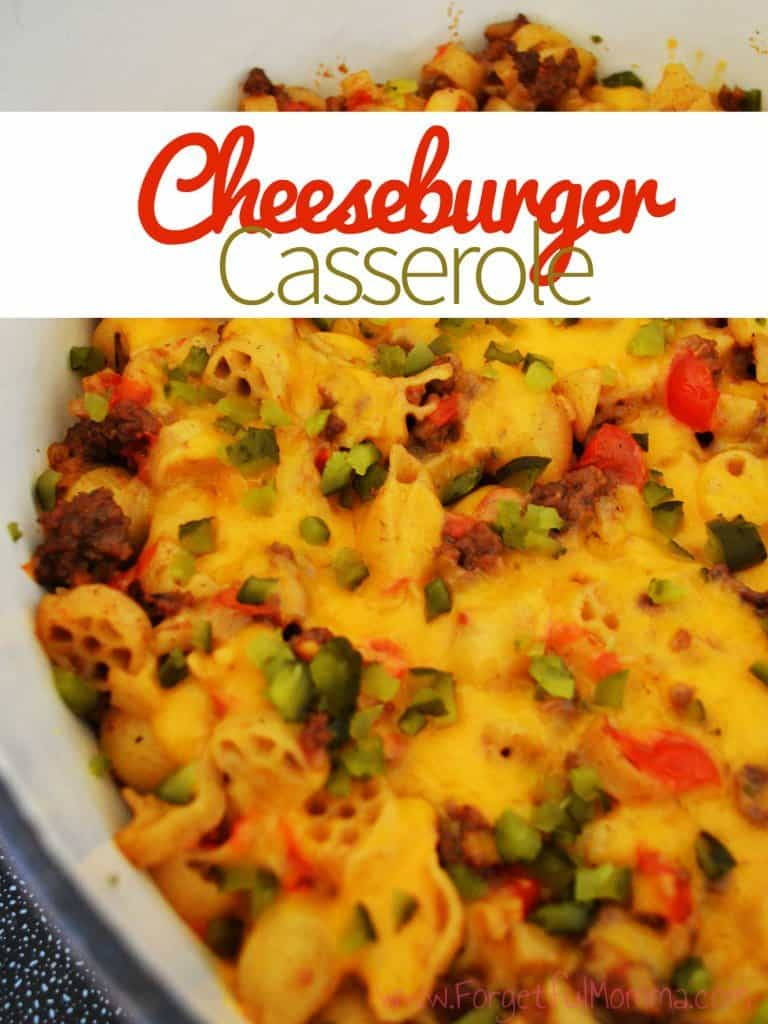 Cheeseburger Casserole Forgetful Momma