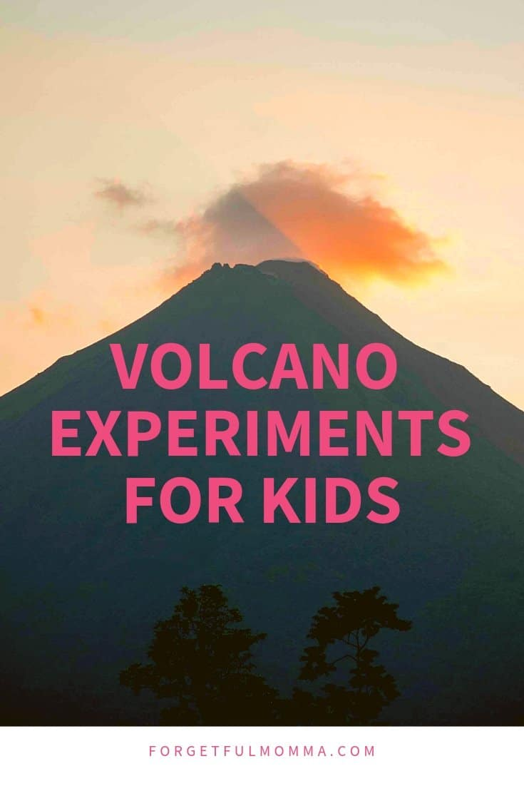 Volcano Experiment for Kids