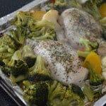 Simple Chicken & Veggies