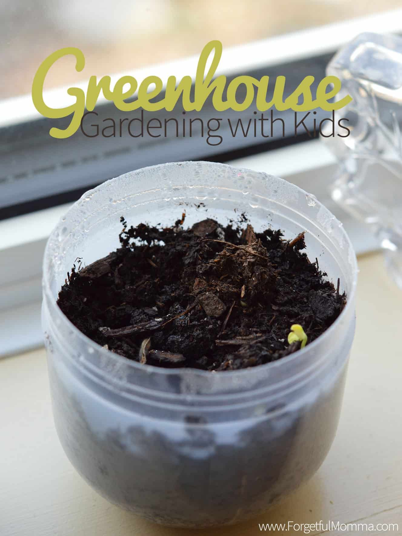 Greenhouse Gardening with Kids