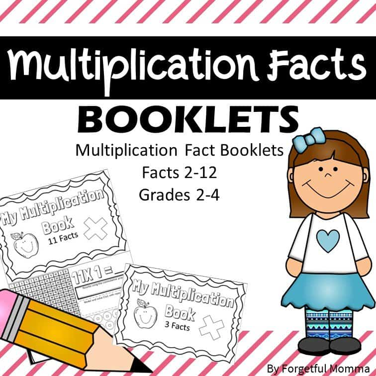 Multiplication Booklets for Math Practice