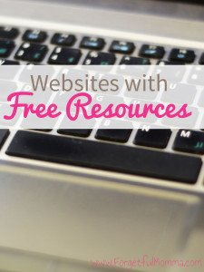 websites with Free Resources