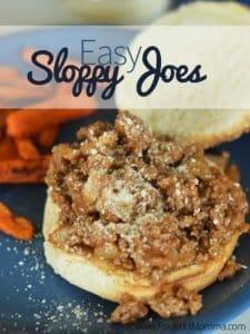 Easy Sloppy Joes