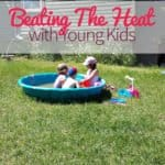 beating the heat with young kids