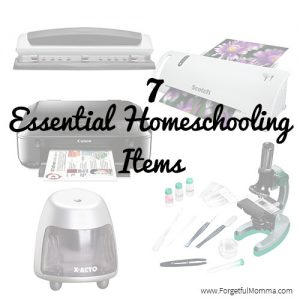 7 essential homeschooling items