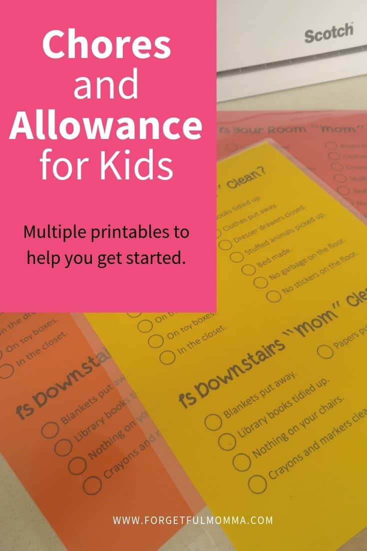 Chores & Allowance for Children