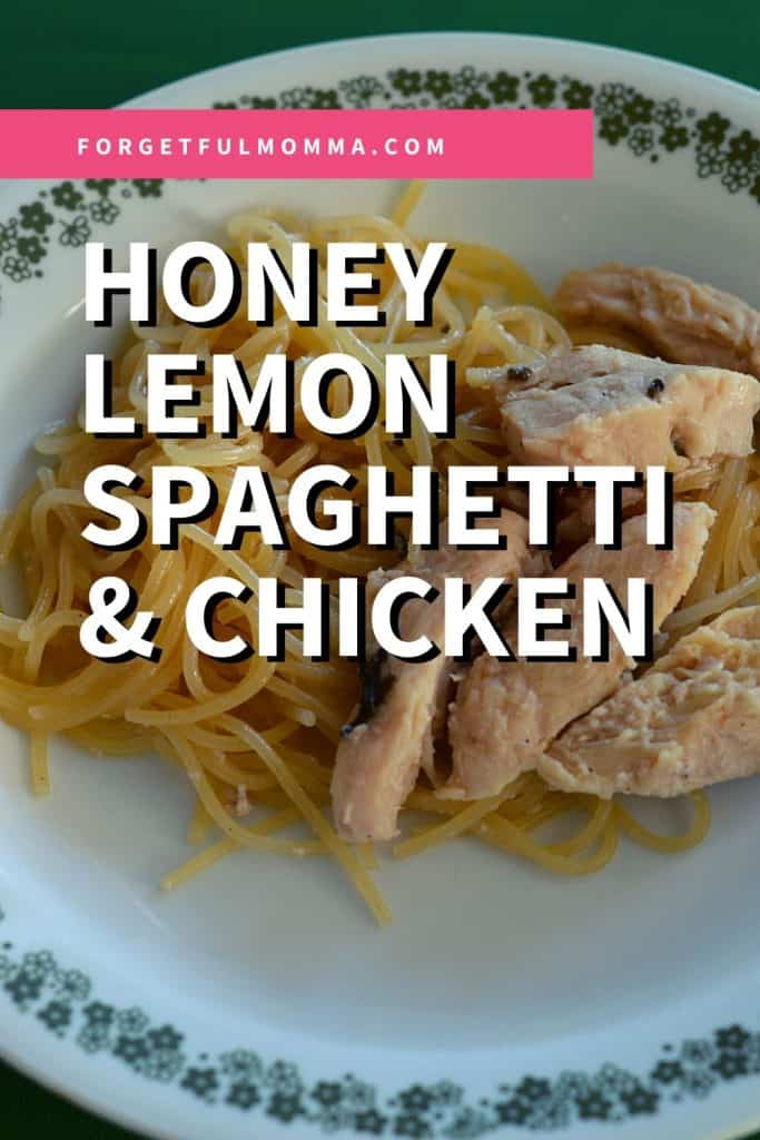 Honey Lemon Spaghetti & Chicken