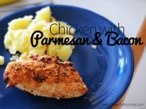 Chicken with Parmesan & Bacon to Feed Your Picky Eaters