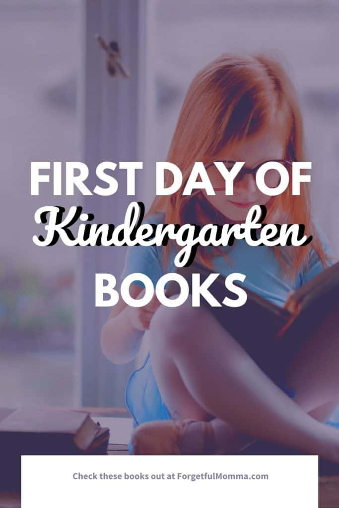 First Day of Kindergarten Books - child reading