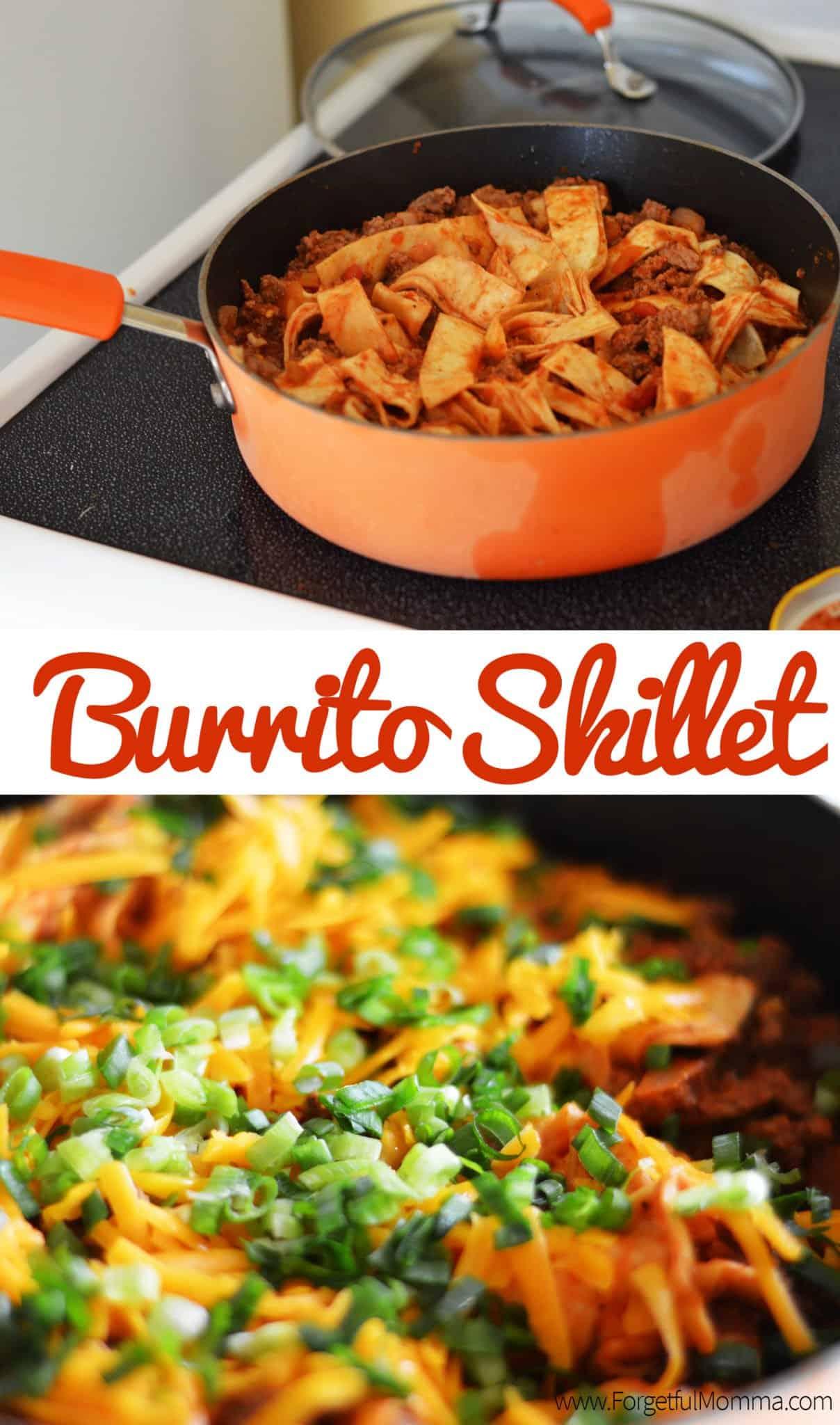 beef burrito skillet