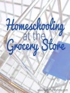 Homeschooling at the Grocery Store