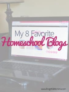 My 8 favorite homeschool blogs