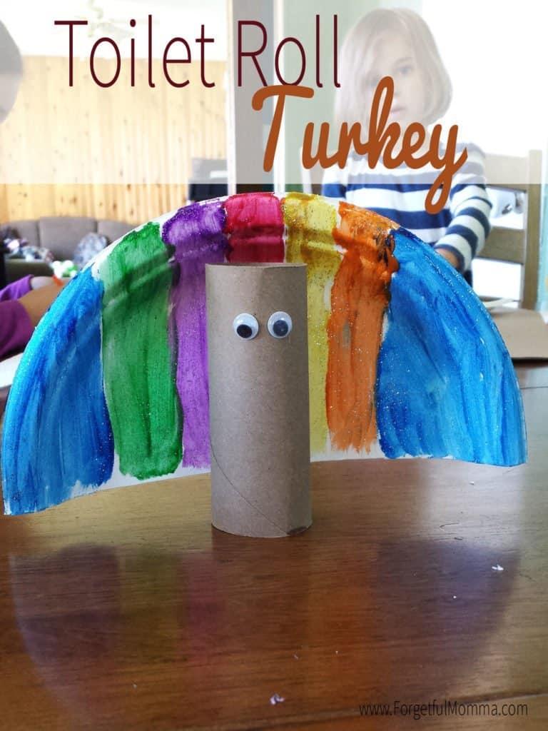 Toilet Roll Turkey Craft
