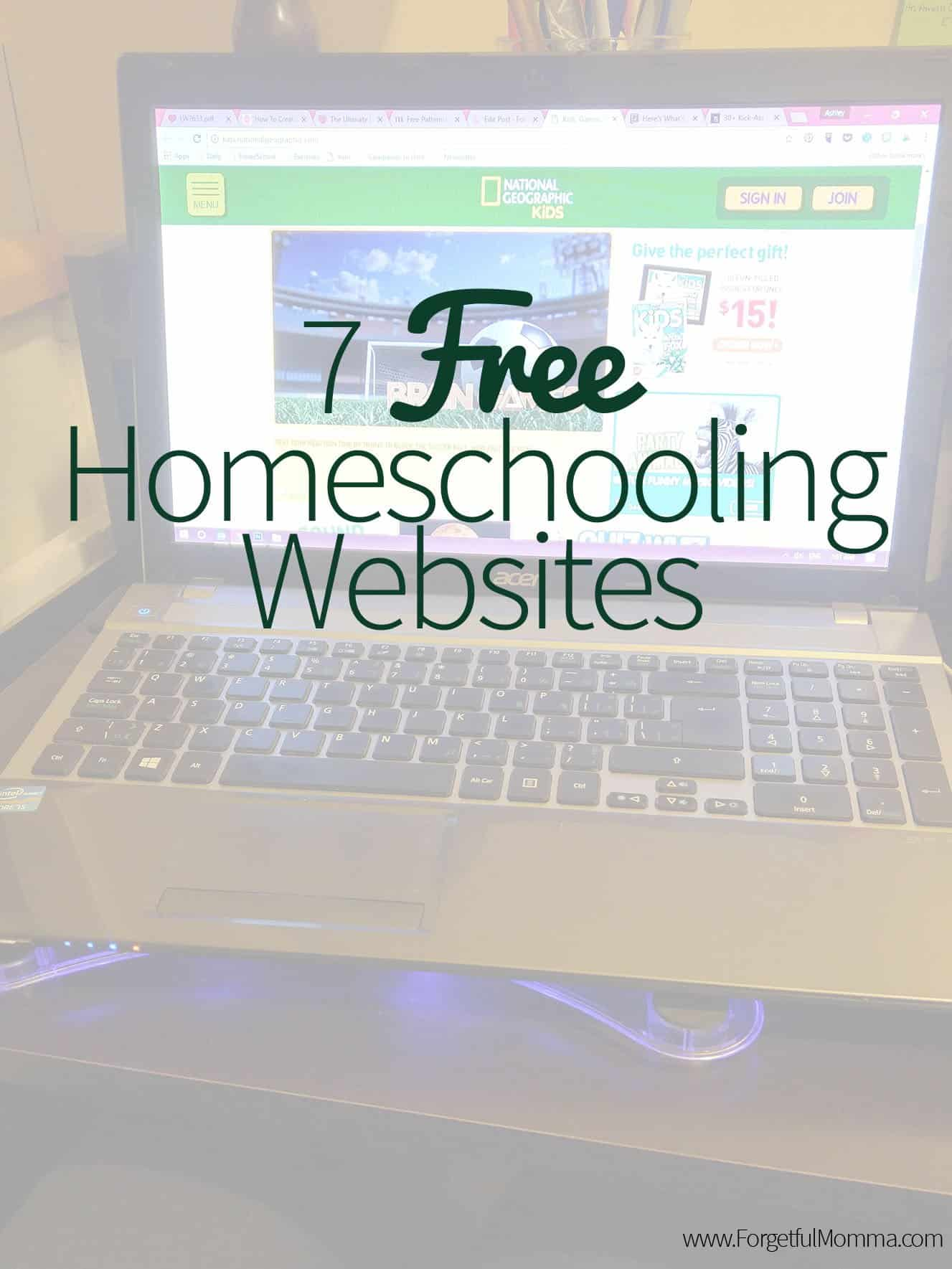 7 Free Homeschooling Websites