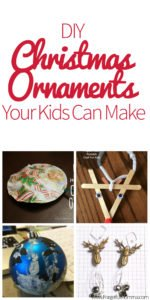 DIY Christmas Ornaments Your Kids Can Make