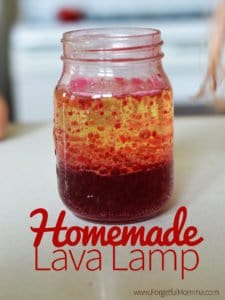 Homemade Lava Lamp for your Kids