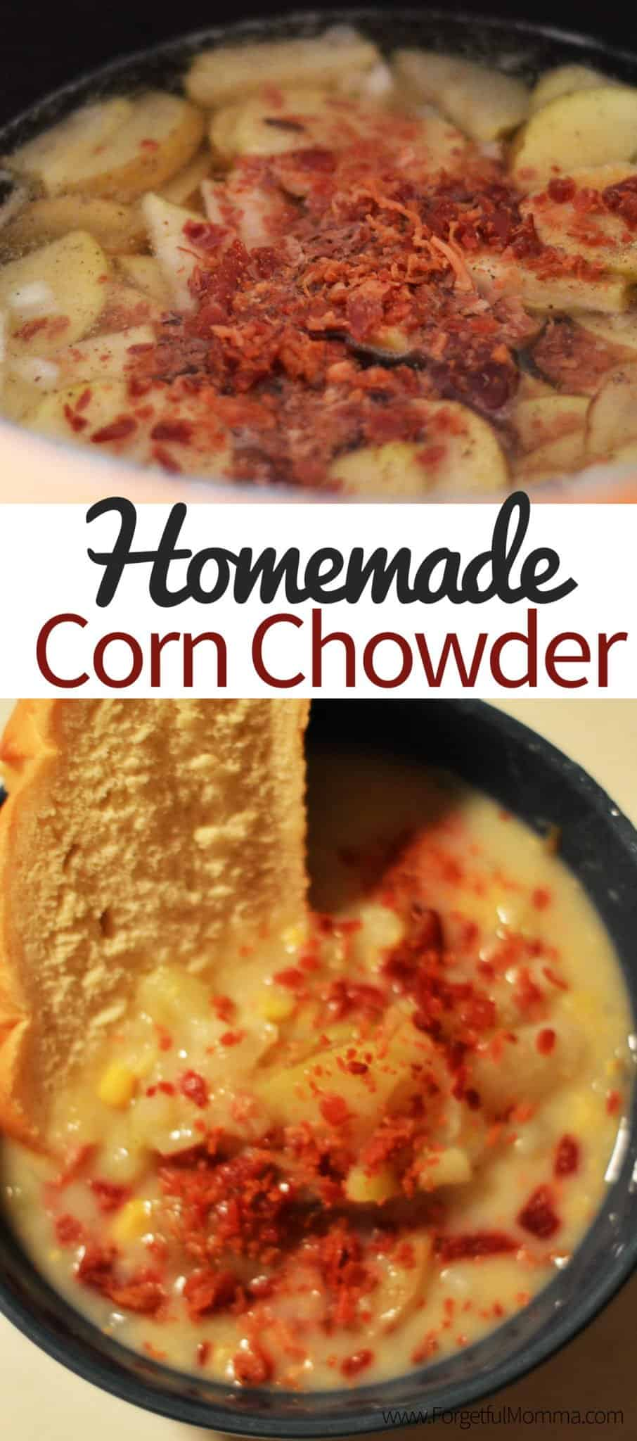 Homemade Corn Chowder