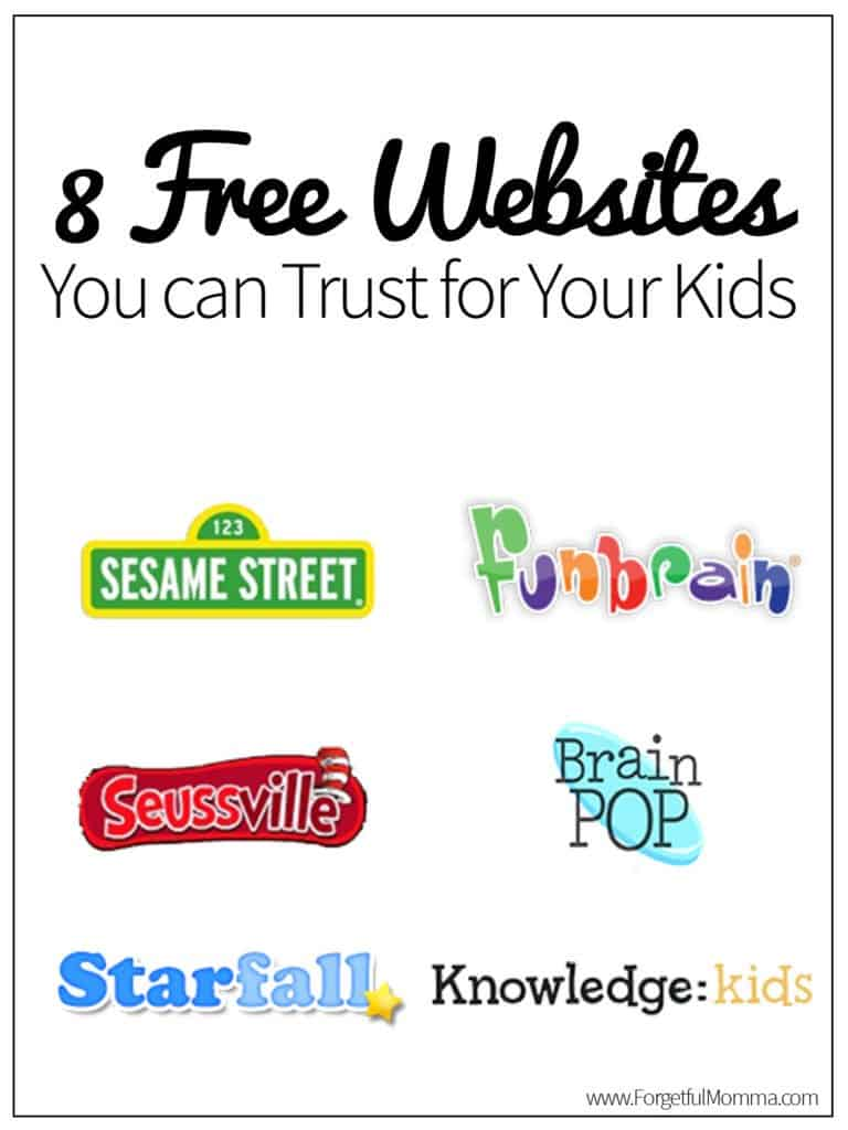 8 Free Websites You can Trust for Your Kids
