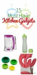 15 Must Have Kitchen Gadgets
