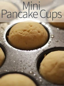 Mini Pancake Cups