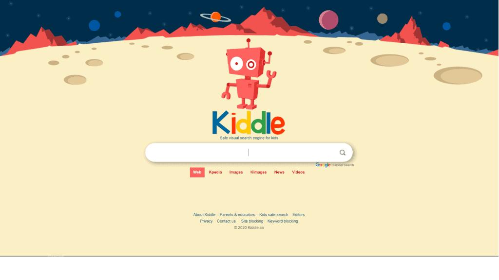 kiddle - website for kids