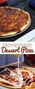 Homemade Dessert Pizza