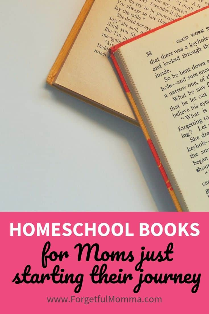 Homeschool Books for Moms just starting their journey