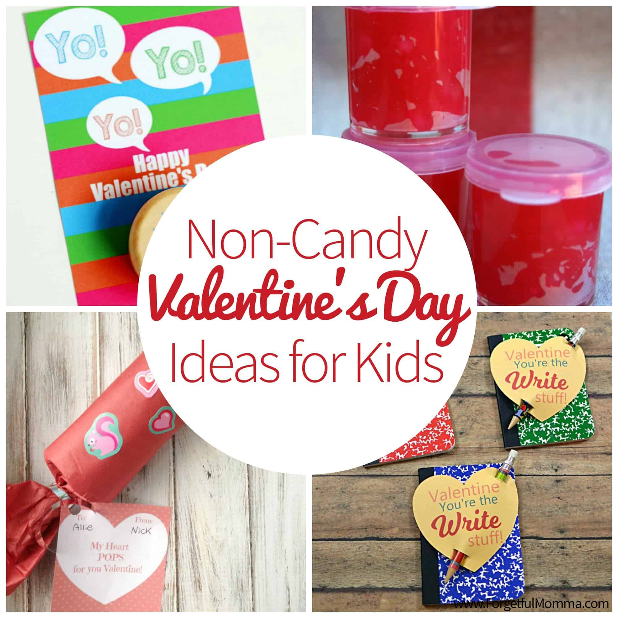 Non-Candy Valentine's Ideas for Kids to Take to School