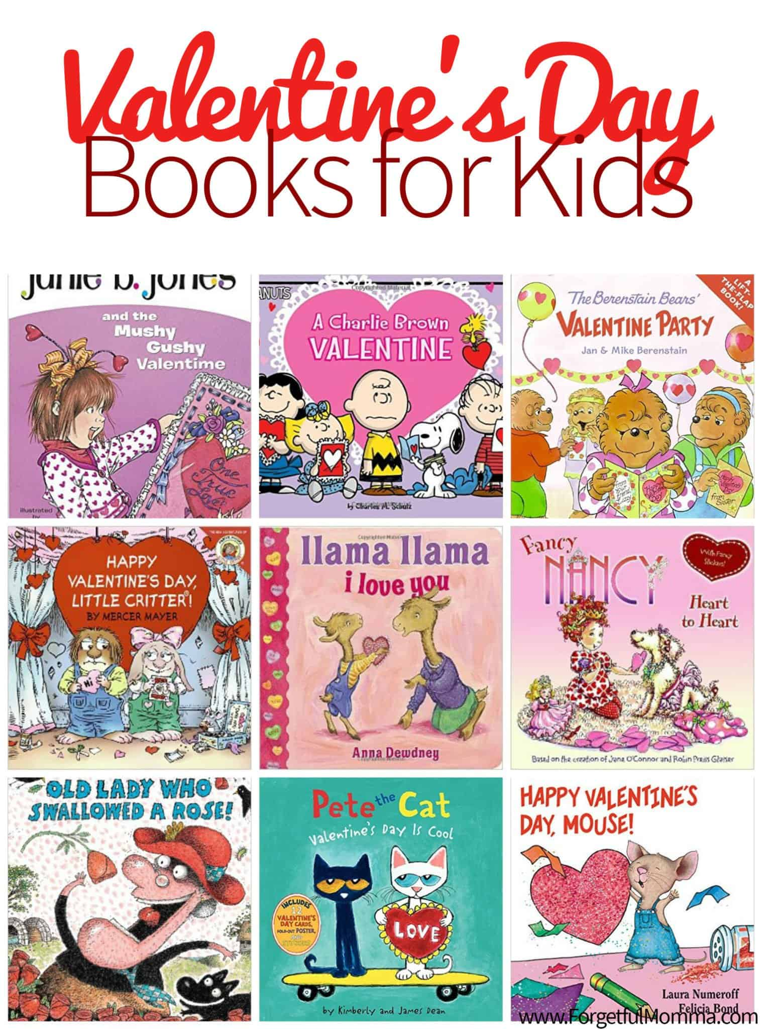 Valentines Day Books For Kids Forgetful Momma