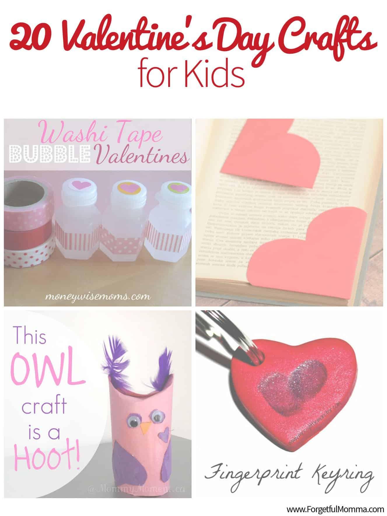 20 Valentine's Day Crafts for Kids