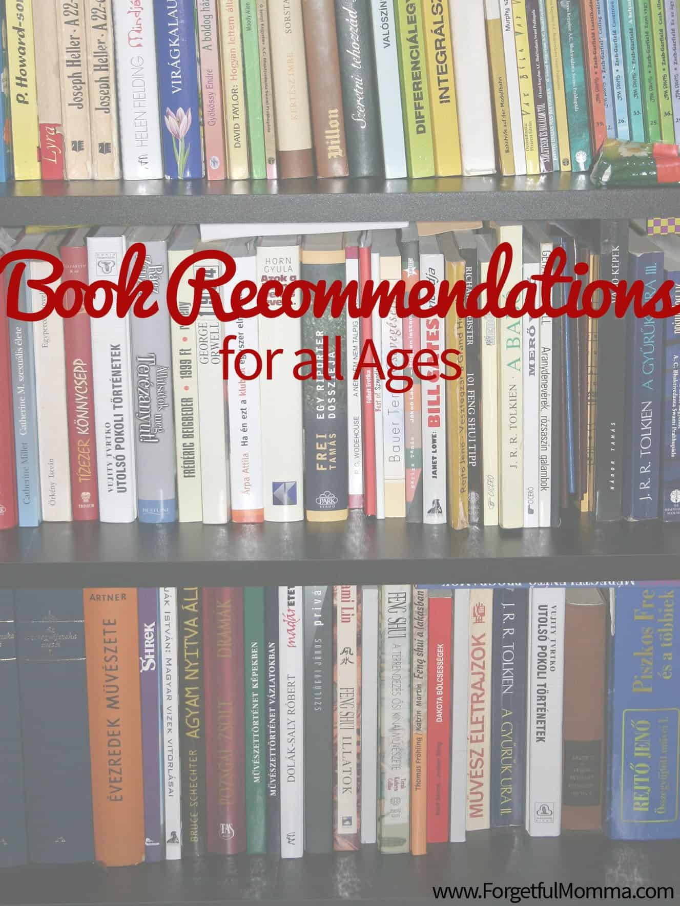 Book Recommendations for all Ages