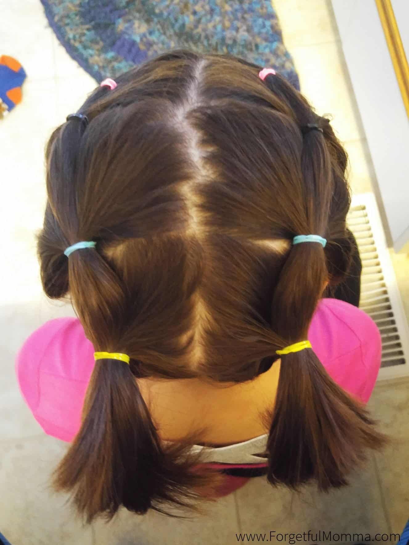 Little Girls Hair Styles - Roped