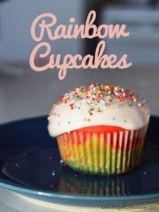 Tasty Tuesday: Rainbow Cupcakes