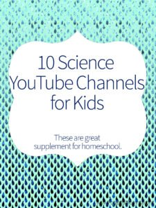 10 Science YouTube Channels for Kids