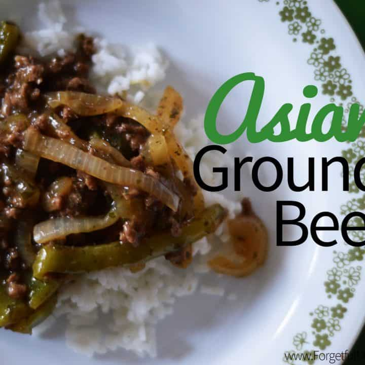 Asian Ground Beef