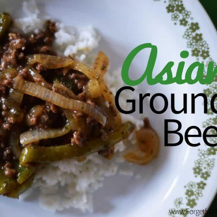Asian Ground Beef