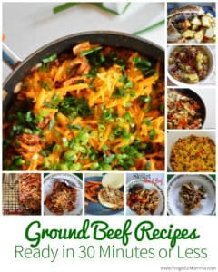 Ground Beef Recipes Ready in 30 Minutes or Less