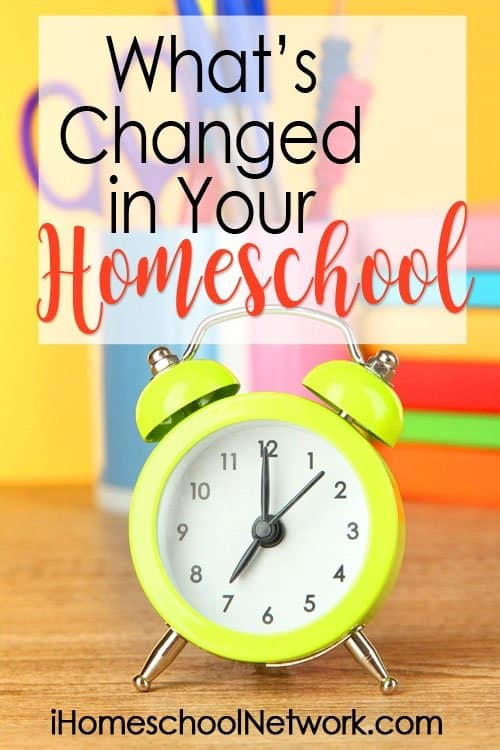How Homeschooling Changed, and Continues to, for Us