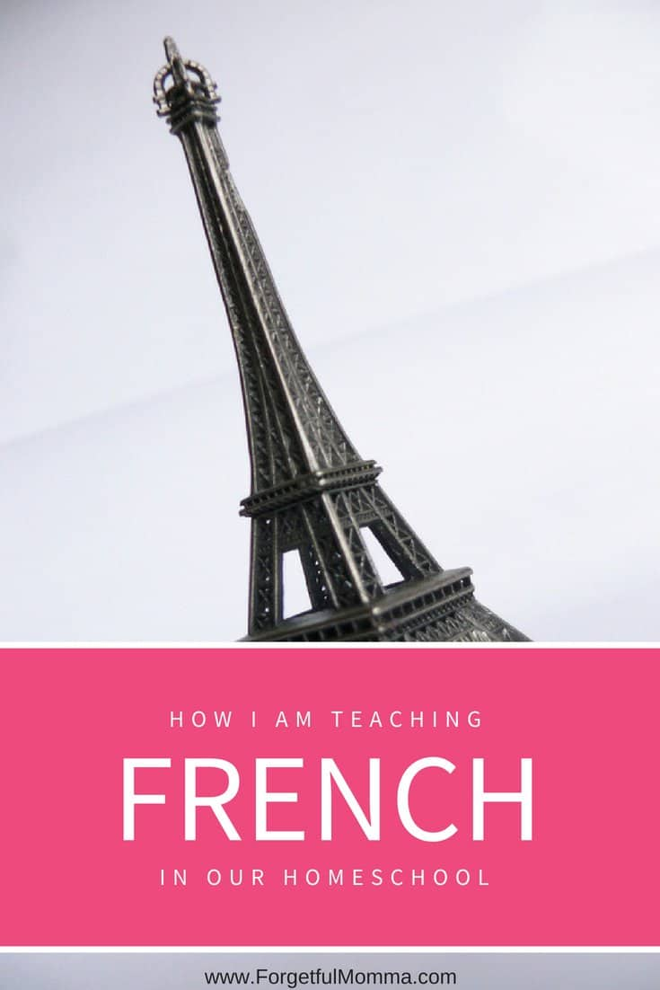 Teaching French in Our Homeschool