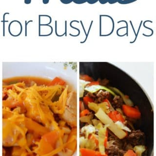 30 Minute Meals for Busy Days