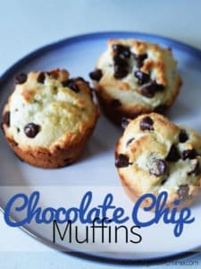 Tasty Tuesday: Chocolate Chip Muffins