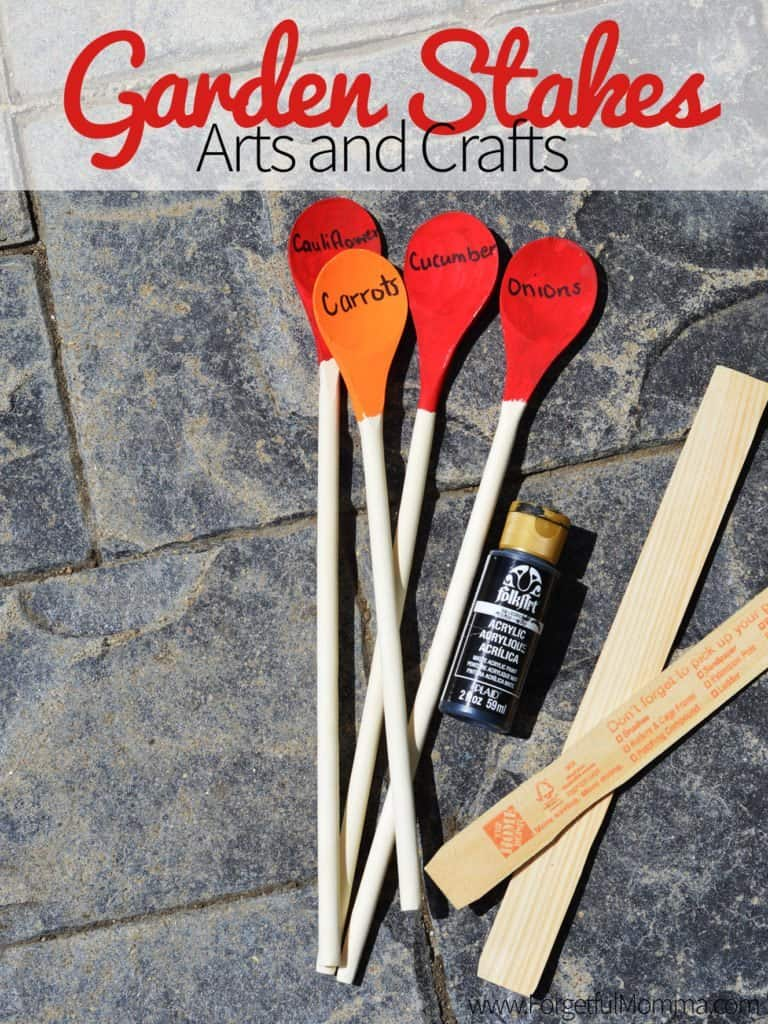 Garden Stakes Arts and Crafts