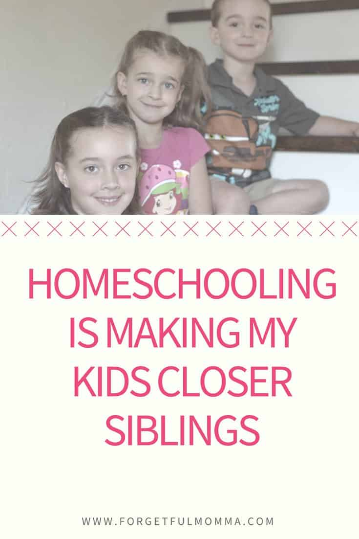 Homeschooling is Making My Kids Closer Siblings