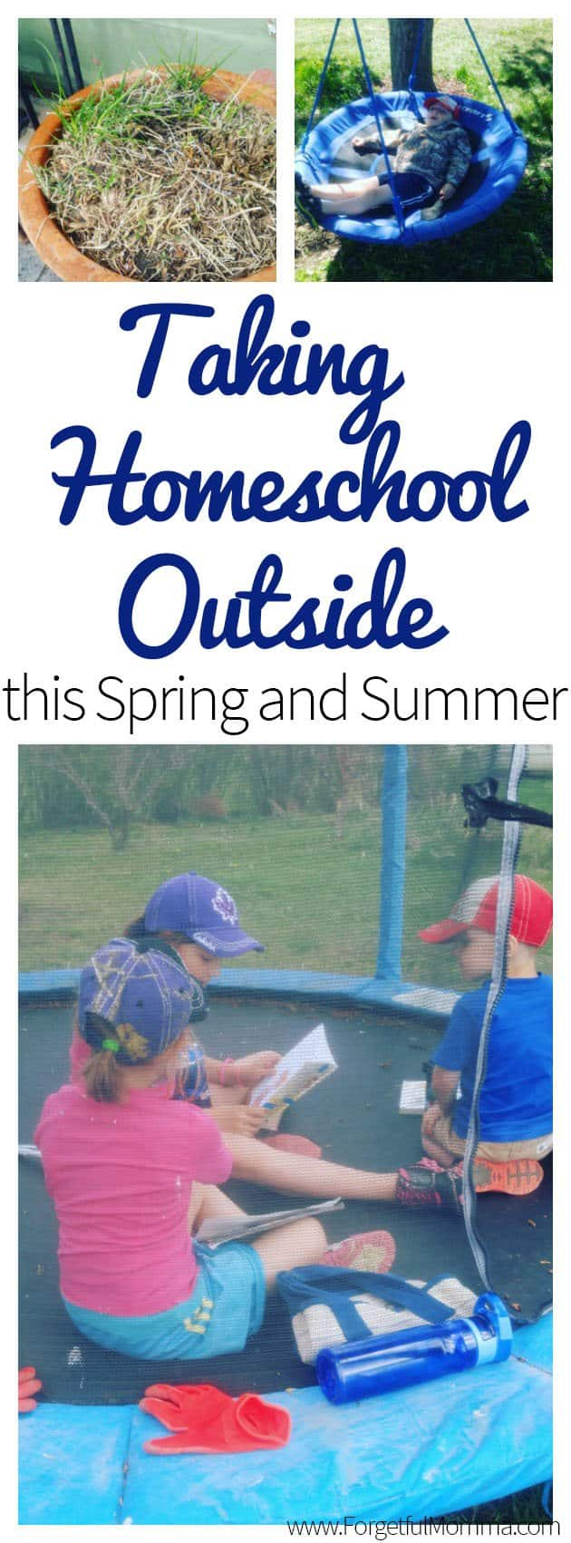 Taking Homeschool Outside this Spring and Summer