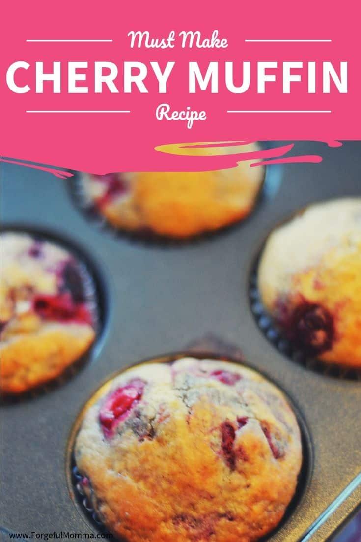 cherry vanilla muffins recipe