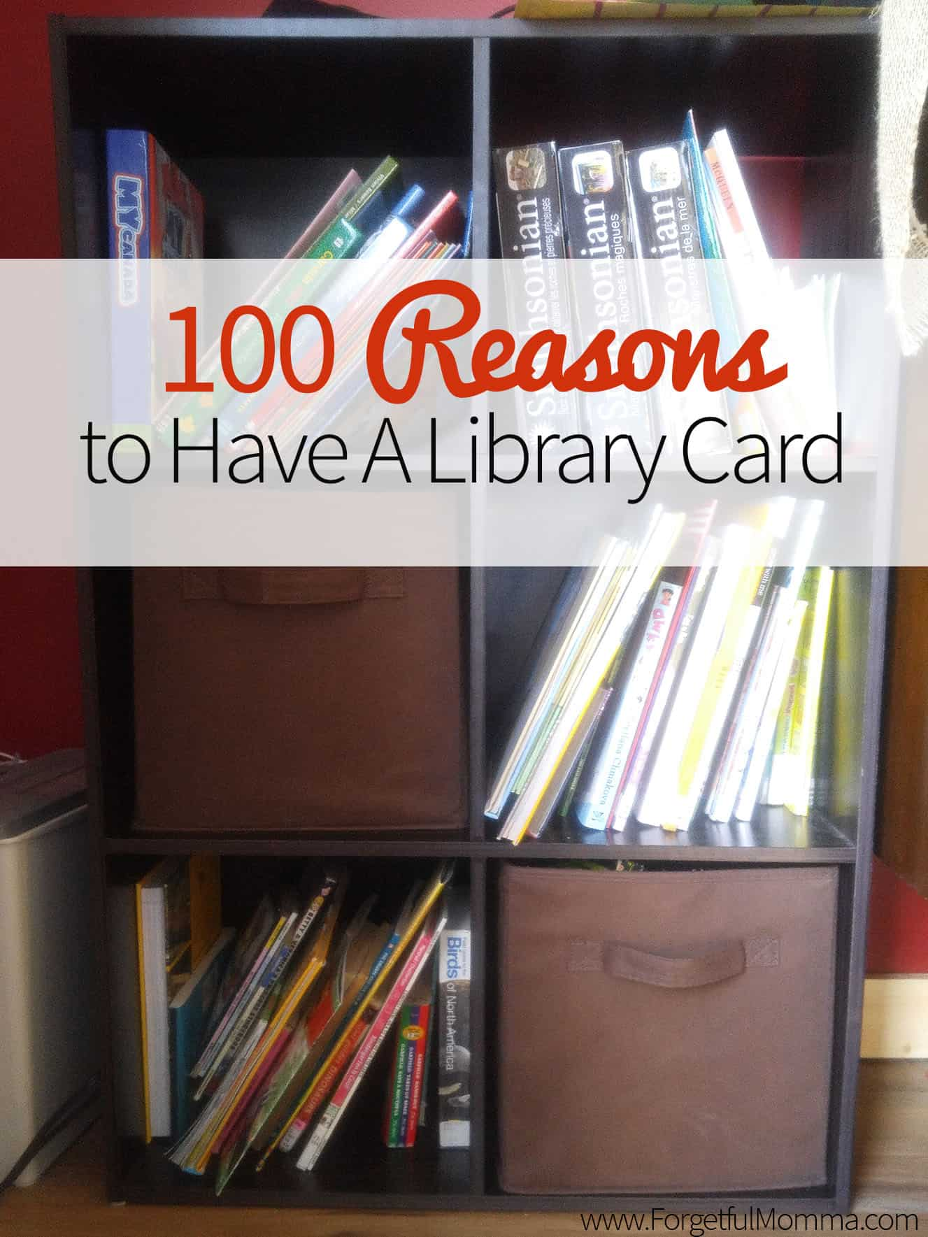 100 reasons to have a library card