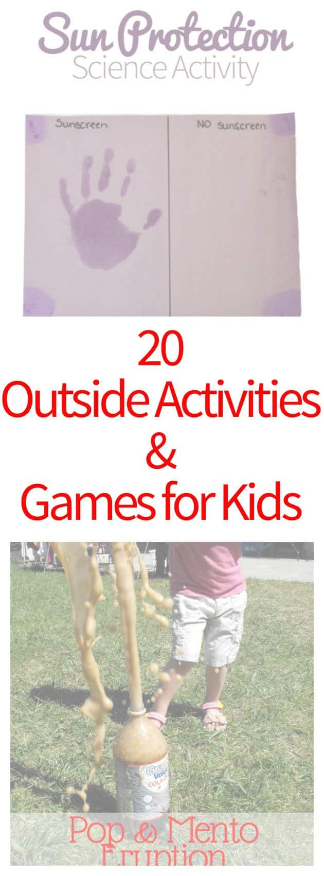 20 Outside Activities & Games for Kids