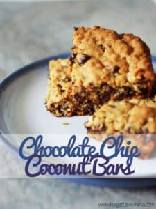 Tasty Tuesday: Chocolate Chip Coconut Bars